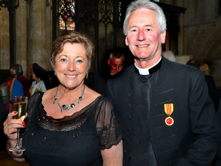 Dean of Lincoln and his wife Linda