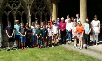 Lincoln Cathedral News - Young Ringers Summer Festival