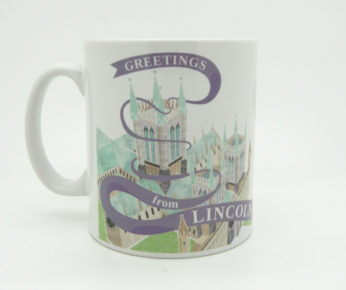 Greetings from Lincoln Cathedral Mug