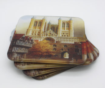 Set of Four Lincoln Cathedral Coasters