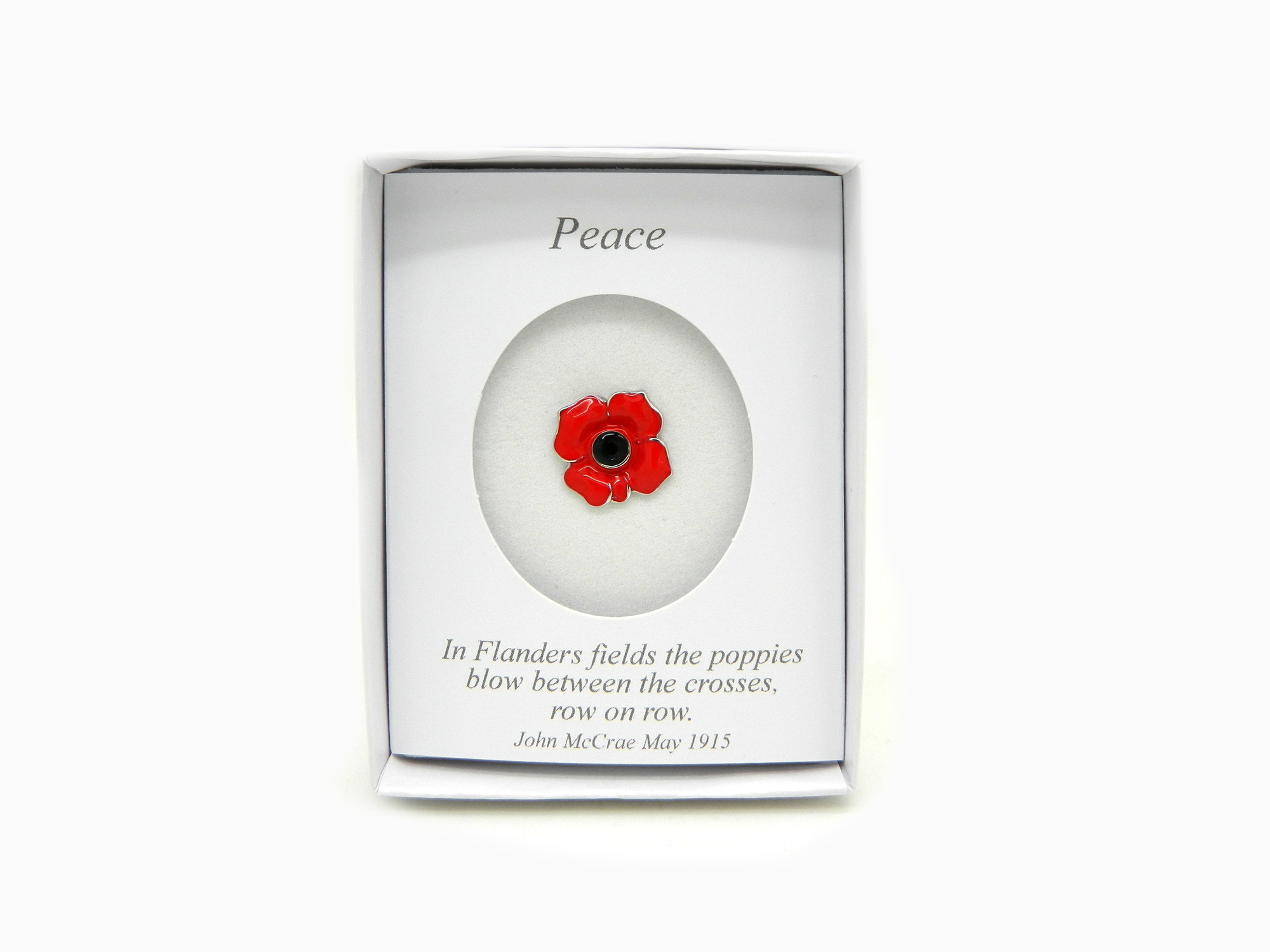 Poppy Lapel Pin Lincoln Cathedral