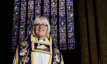 Lincoln Cathedral News - A wonderful welcome to the new Dean