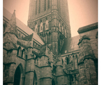 Cathedral in the Mist by Natasha Bisby