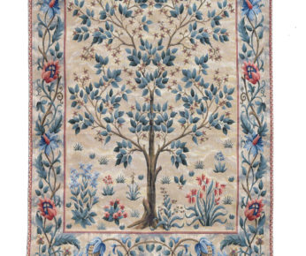 Pale Tree of Life Tapestry
