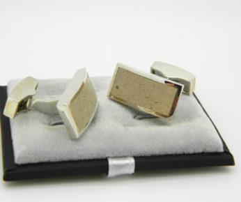 Lincoln Limestone Cufflinks
