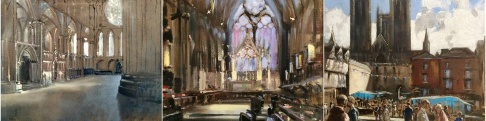 Lincoln Cathedral - Artist in Residence Exhibition 2017
