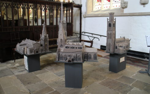 Lincoln Cathedral Events - Woolly Spires – Knitted Churches of Lincolnshire