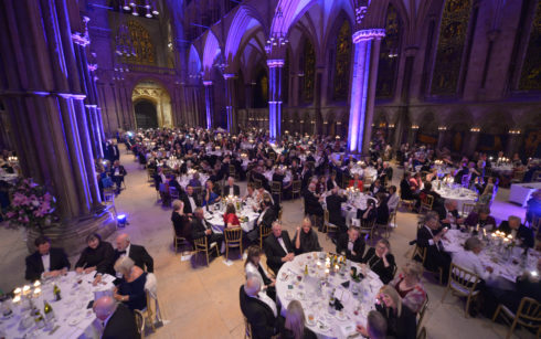 Lincoln Cathedral Events - Charter of the Forest Dinner