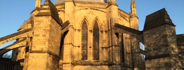 Lincoln Cathedral - Pinnacle removed from Chapter House