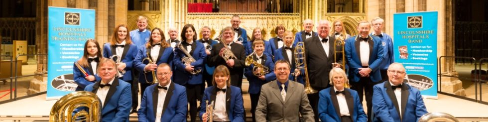 Lincoln Cathedral - Christmas Market: Lincolnshire Hospitals Band Concert