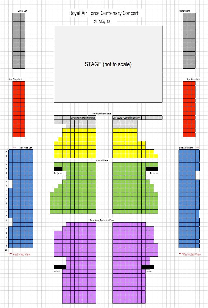 Raf Centenary Seating Plan