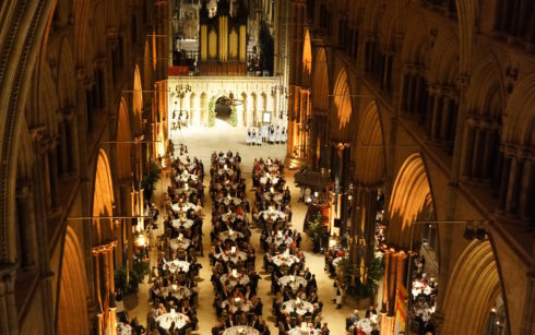 Lincoln Cathedral Events - RAF100 Dinner