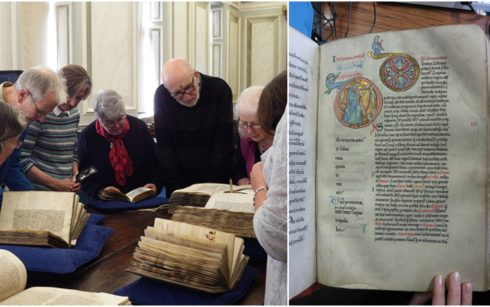 Lincoln Cathedral Events - Medieval Manuscripts Illumination Worskshop