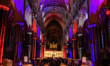 Lincoln Cathedral News - Speeches from the RAF100 Dinner in the Nave