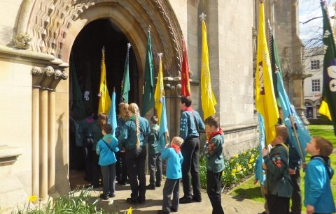 Lincoln Cathedral Events - Lincoln District Scouts St George's Day Parade