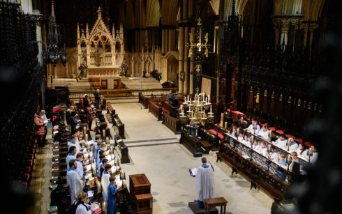 Lincoln Cathedral Events - Jazz Eucharist with The Chris Ingham Quartet & The Choir of Lincoln Cathedral