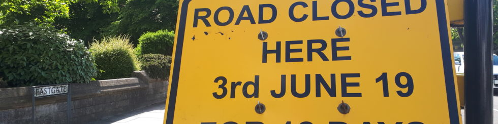 Lincoln Cathedral - Eastgate Road Closure June 2019