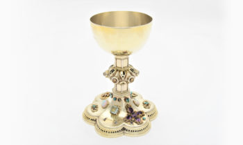 Lincoln Cathedral News - Gem of a find – Lost 19th century jewelled chalice found