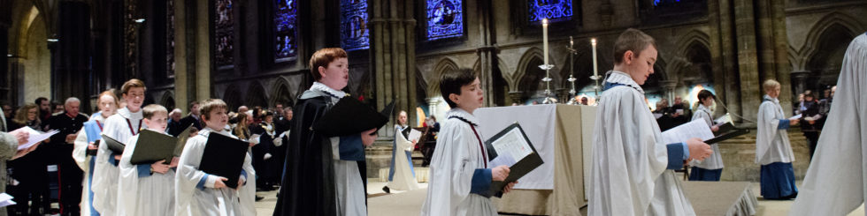 Lincoln Cathedral - Christmas Market: Carol Service