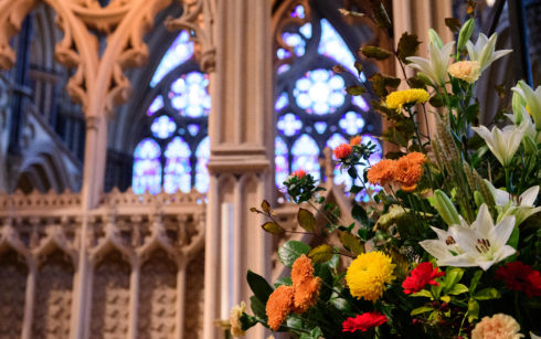 Lincoln Cathedral Events - Lincoln Cathedral Flower Festival: Vision