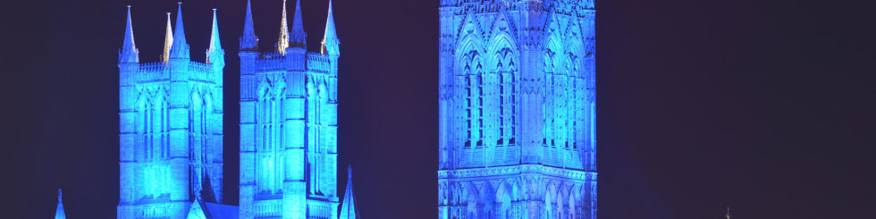 Lincoln Cathedral - Cathedral to be bathed in blue to celebrate nurses and midwifes