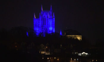 Lincoln Cathedral News - Light It Blue and Holy Week