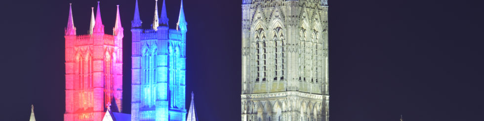 Lincoln Cathedral - Lincoln Cathedral to mark VE Day 75