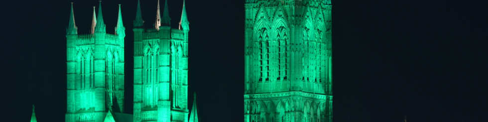 Lincoln Cathedral - Going green for a great cause