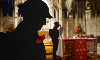 Lincoln Cathedral News - Remembrance Sunday ticket ballot