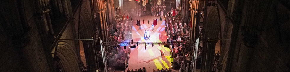 Lincoln Cathedral - Welcome return of theatre to Lincoln Cathedral