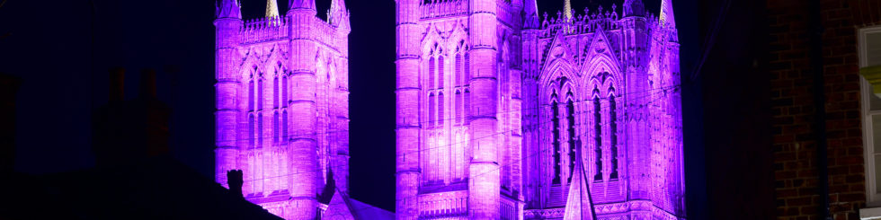 Lincoln Cathedral - Lincoln Cathedral to go purple in celebration of Census 2021