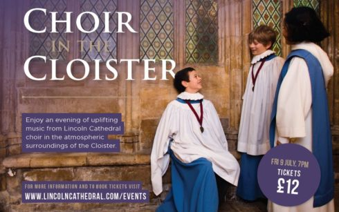 Lincoln Cathedral Events - An evening with Lincoln Cathedral Choir in the Cloister