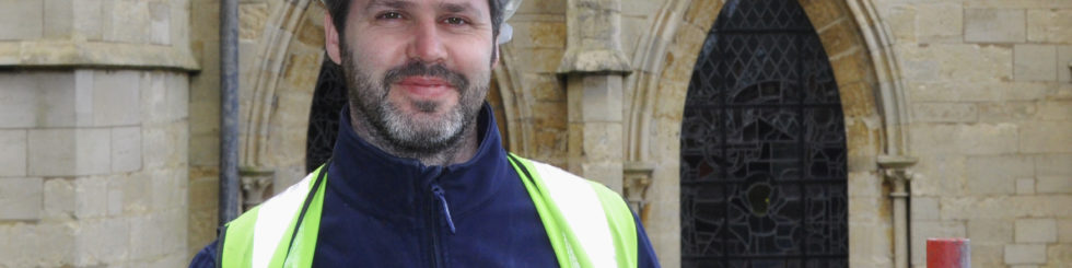 Lincoln Cathedral - From apprentice to head of masonry – Lincoln Cathedral promotes long-standing employee