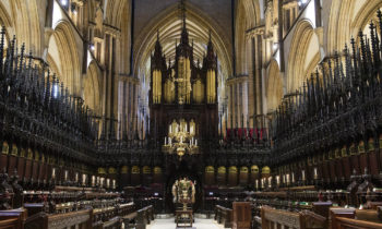 Lincoln Cathedral News - Installation of Clericus Fabricae
